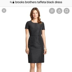 Brooks Brothers little black dress